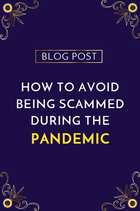 How To Avoid Being Scammed During The Pandemic // Lighthouse Business Services